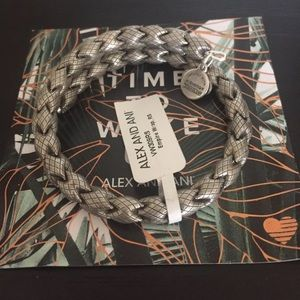 Alex and Ani Empire Wrap Bracelet Russian Silver